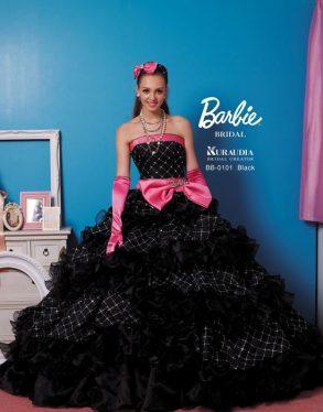 ウェディングドレス Barlie ブラック